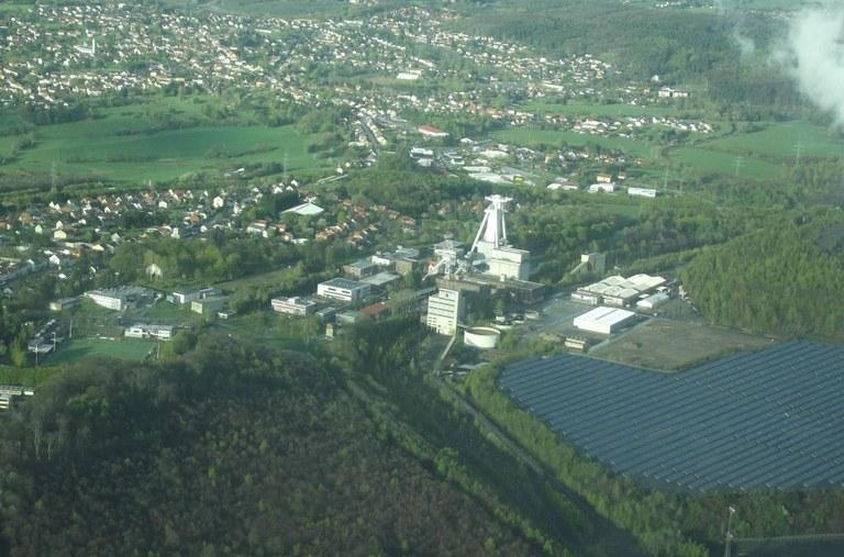 Campus Göttelborn von oben (2012)