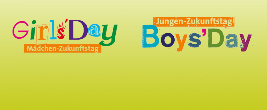 Girls' Day | Boys' Day am 28. März 2019