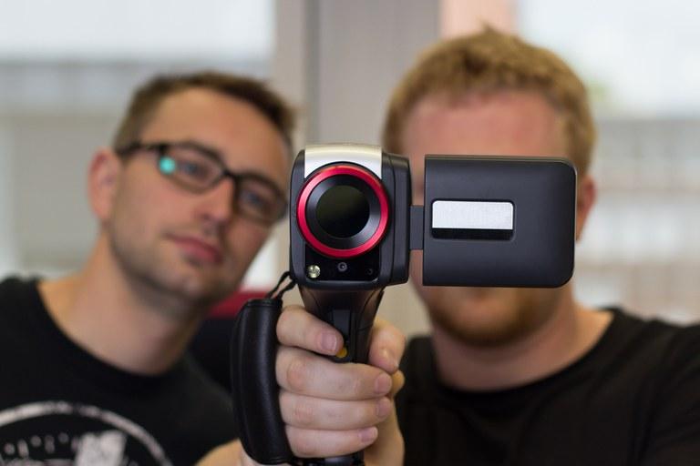 Objektiv IR-Kamera