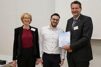 DAAD-Preis für hervorragende Leistungen im Studium an Mohamad Al Nabulsi verliehen