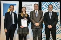 DFHI/ISFATES-Studentin erhält Exzellenzpreis der Deutsch-Französischen Hochschule