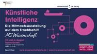 Mitmach-Ausstellung zu Künstlicher Intelligenz: Die MS Wissenschaft macht vom 31. Juli bis 4. August 2019 Halt in Saarbrücken
