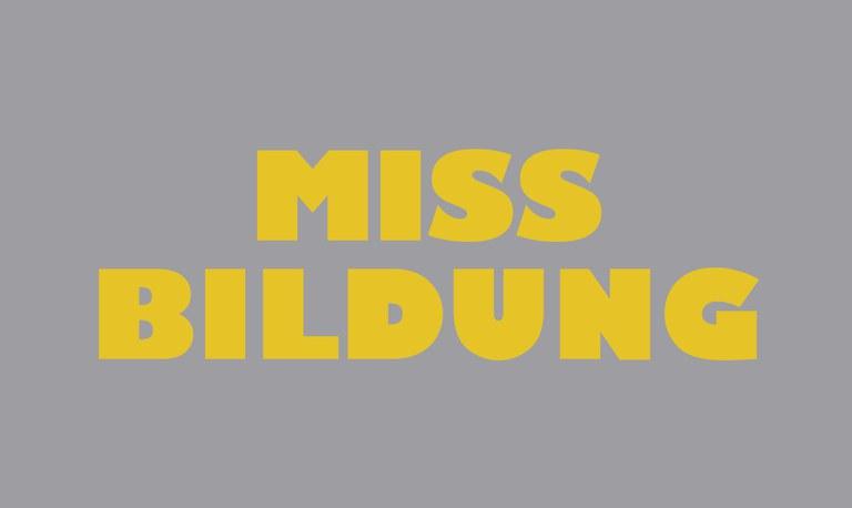 Miss Bildung